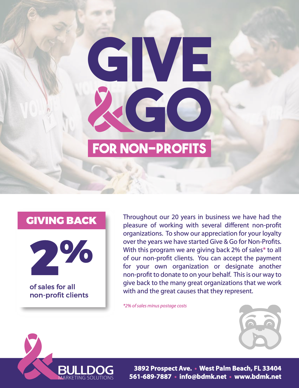 Give & Go for Non-Profits